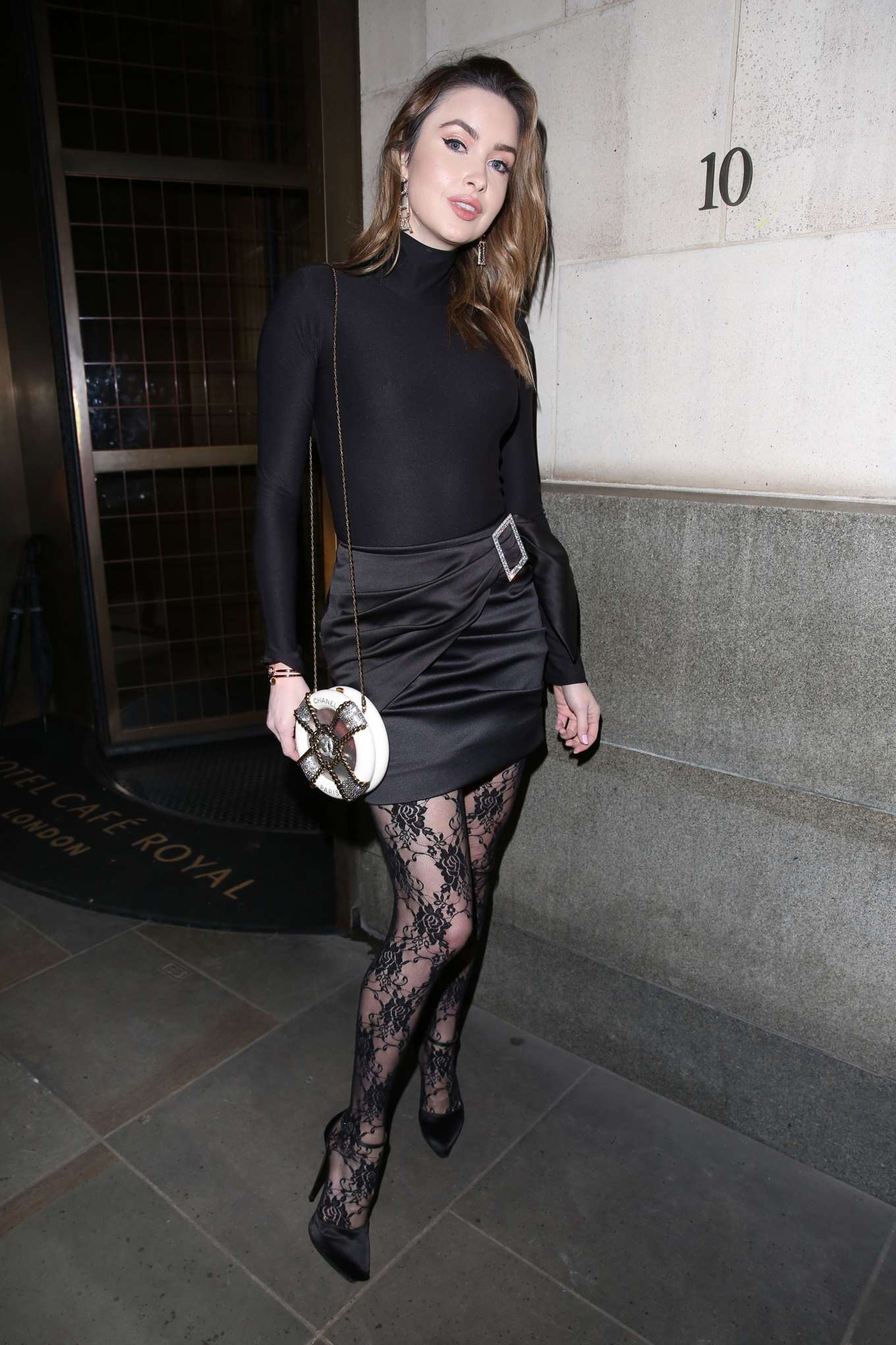 Emma Miller 2019 : Emma Miller – House of CB Christmas Party in London-05