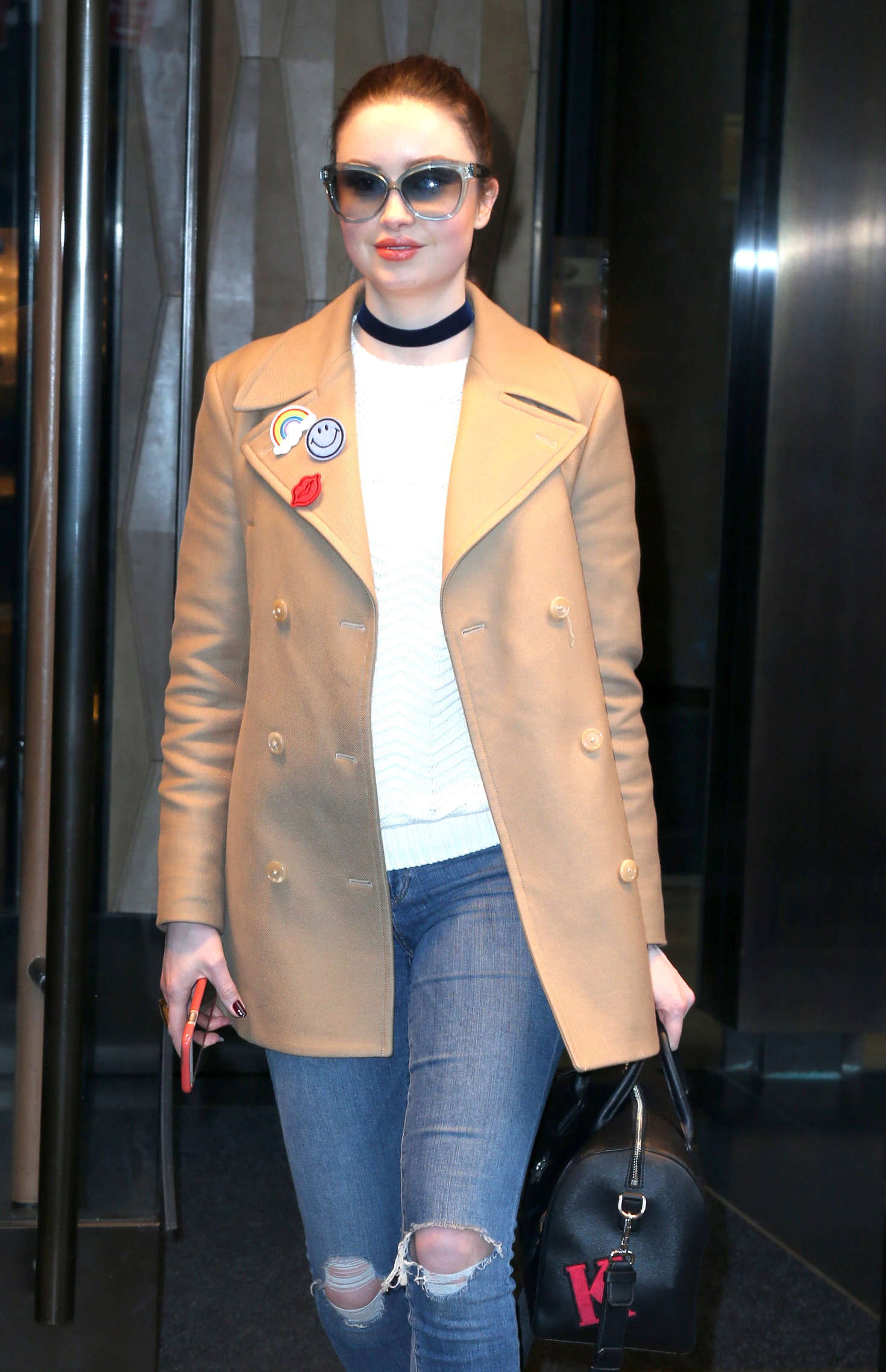 Emma Miller in Jeans out in New York City