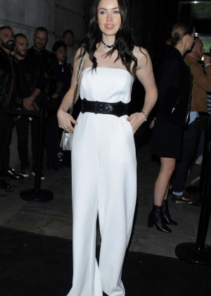 Emma Miller - Versus By Versace Fashion Show in London