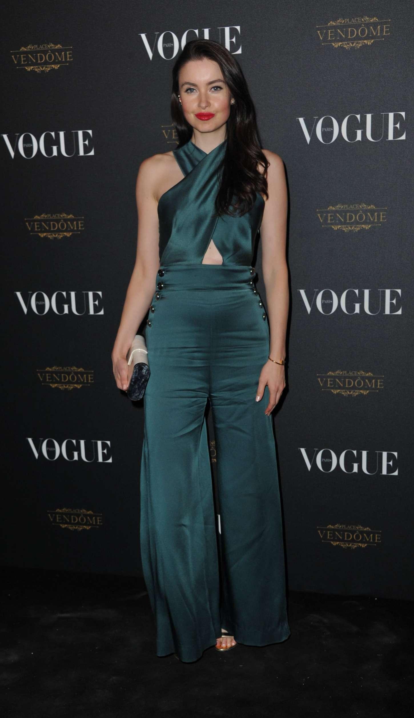 Emma Miller - Vogue 95th Anniversary Party in Paris