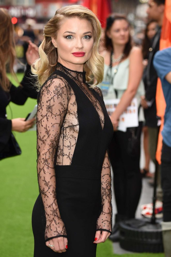 Emma Rigby – 'The Festival' Premiere in London