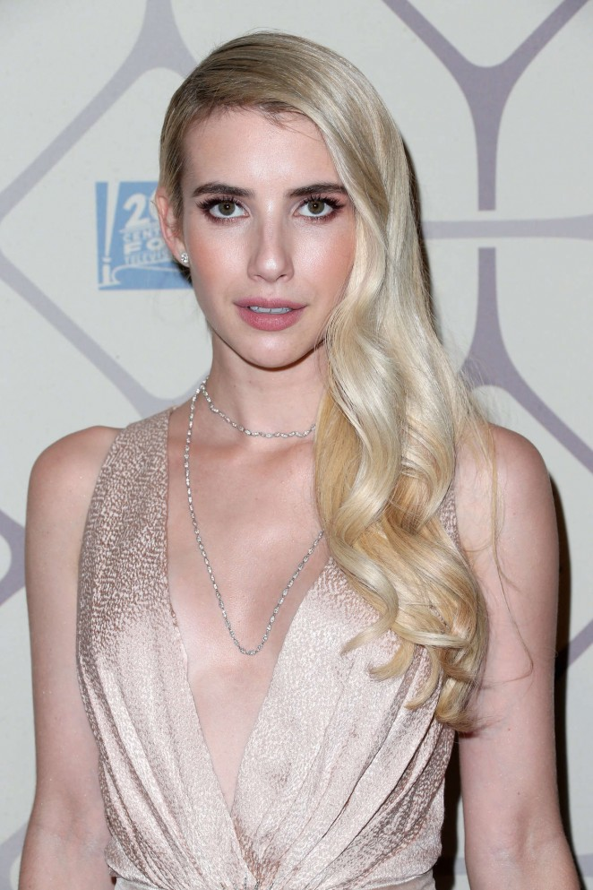 Emma Roberts - 2015 Emmy Awards Fox After Party in LA