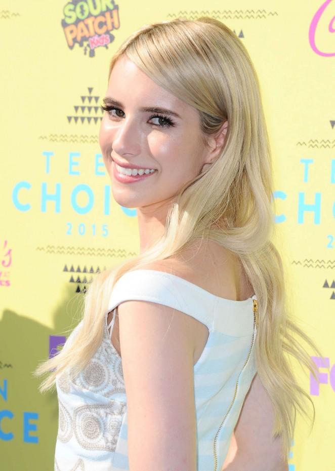 Emma Roberts – 2015 Teen Choice Awards in LA
