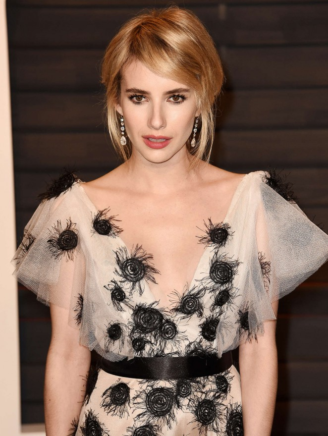 Emma Roberts - 2016 Vanity Fair Oscar Party in Beverly Hills