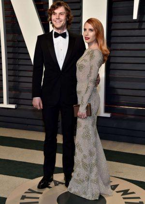 Emma Roberts - 2017 Vanity Fair Oscar Party in Hollywood