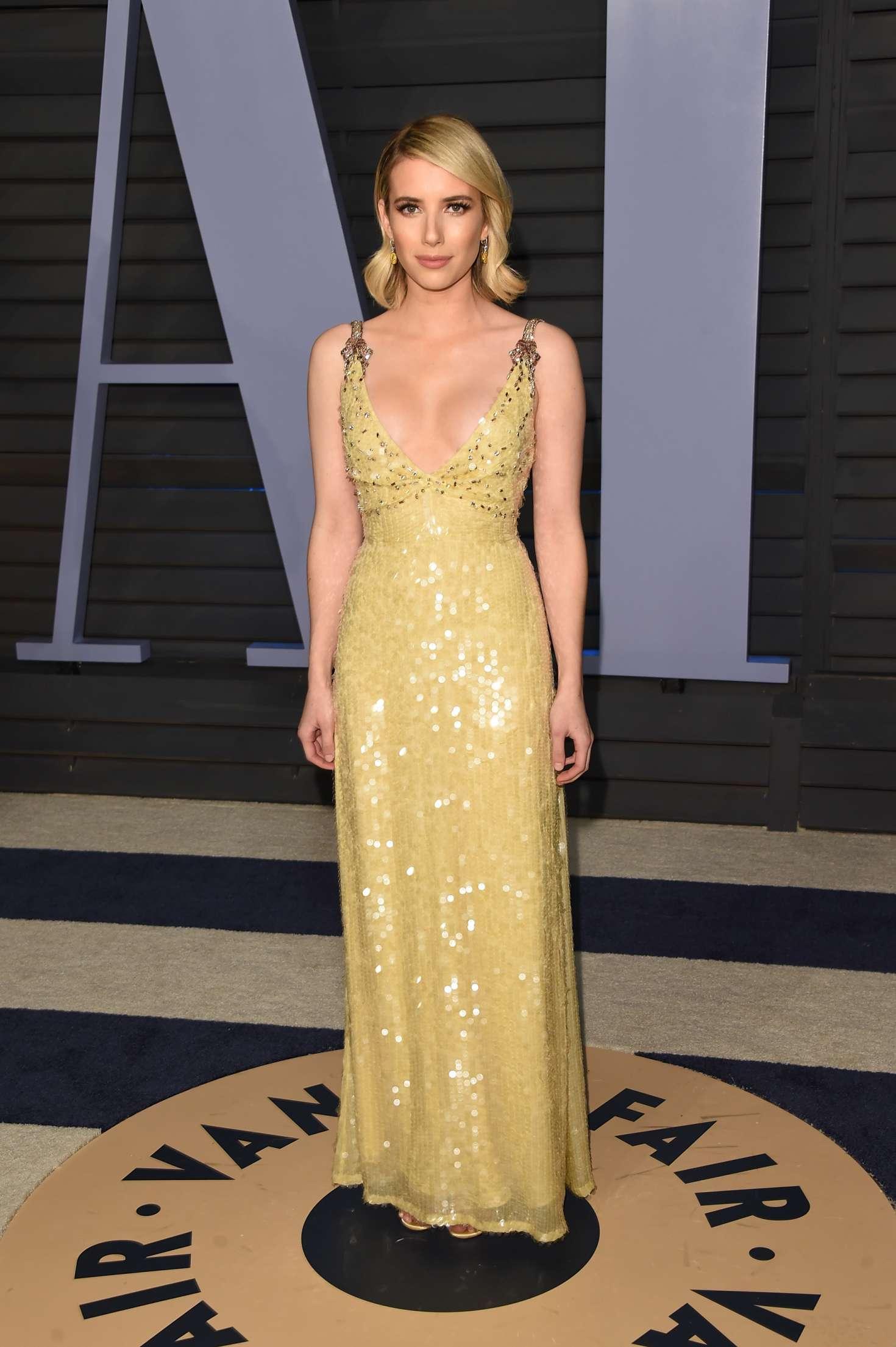 Emma Roberts 2018 Vanity Fair Oscar Party 16 Gotceleb