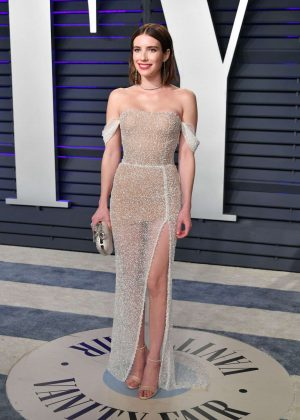 Emma Roberts - 2019 Vanity Fair Oscar Party in Beverly Hills