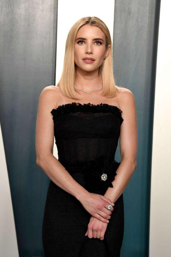 Emma Roberts - 2020 Vanity Fair Oscar Party in Beverly Hills