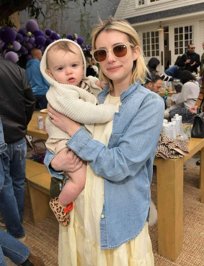Emma Roberts - AKID Brand's 3rd Annual 'The Egg Hunt' in Los Angeles