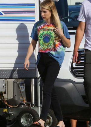 Emma Roberts - American Horror Story set In Los Angeles
