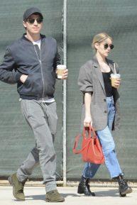 Emma Roberts and Garret Hedlund - Running errands in Los Feliz