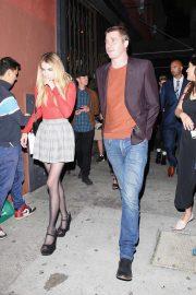 Emma Roberts and Garrett Hedlund - Enjoy a dinner date in Los Feliz