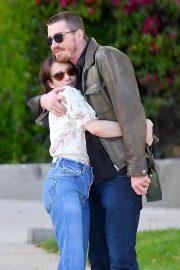 Emma Roberts and Garrett Hedlund - Enjoy a romantic stroll in Los Angeles