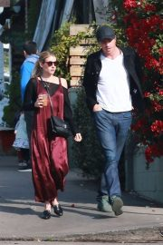 Emma Roberts and Garrett Hedlund - Go out for breakfast in Los Feliz