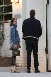 Emma Roberts and Garrett Hedlund - Head to Taylor Swift's house for dinner in LA
