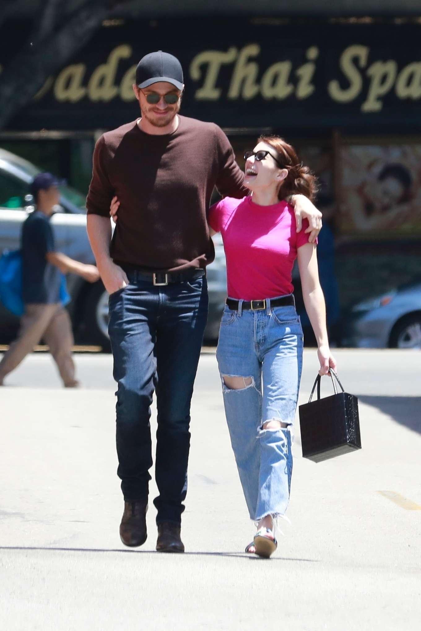 Emma Roberts And Garrett Hedlund Out In Los Feliz 08 Gotceleb
