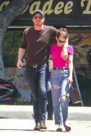 Emma Roberts and Garrett Hedlund - Out in Los Feliz