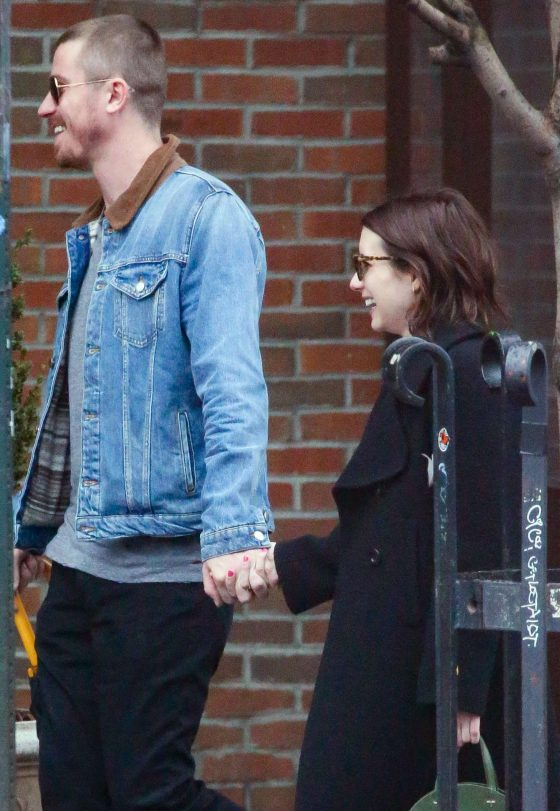 Emma Roberts and Garrett Hedlund: Out in New York City -01