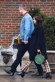 Emma Roberts and Garrett Hedlund - Out in New York City