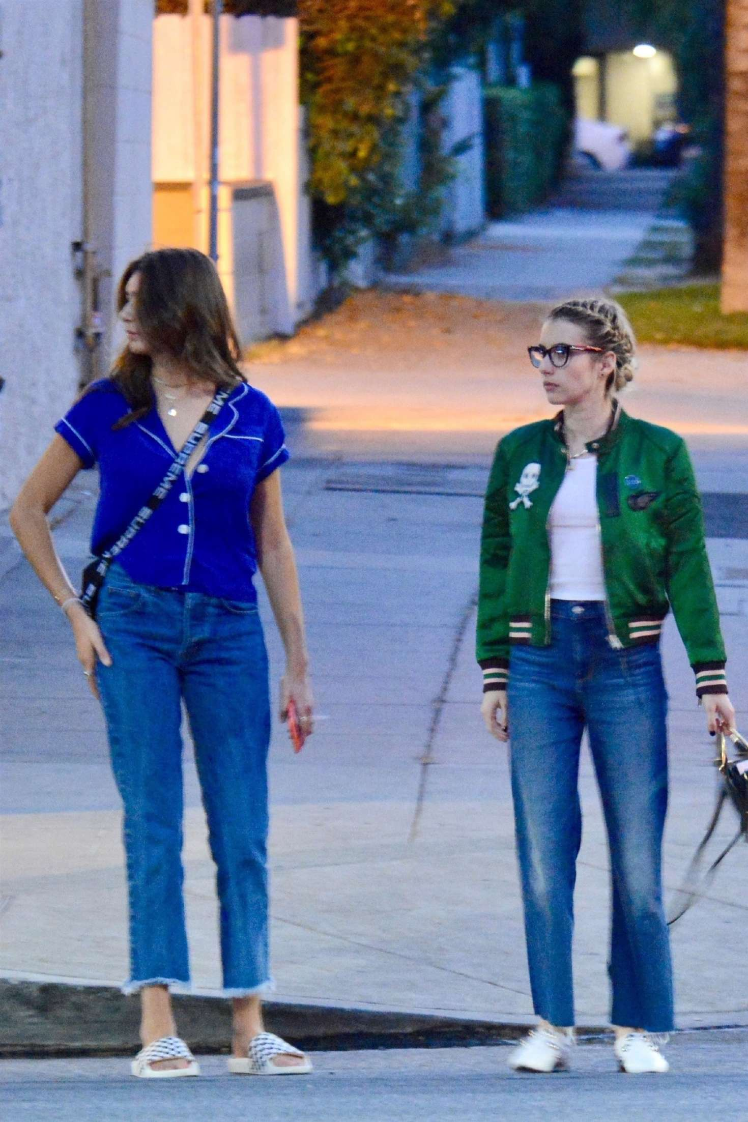 Emma Roberts And Her Sister Out In Los Angeles 10 Gotceleb