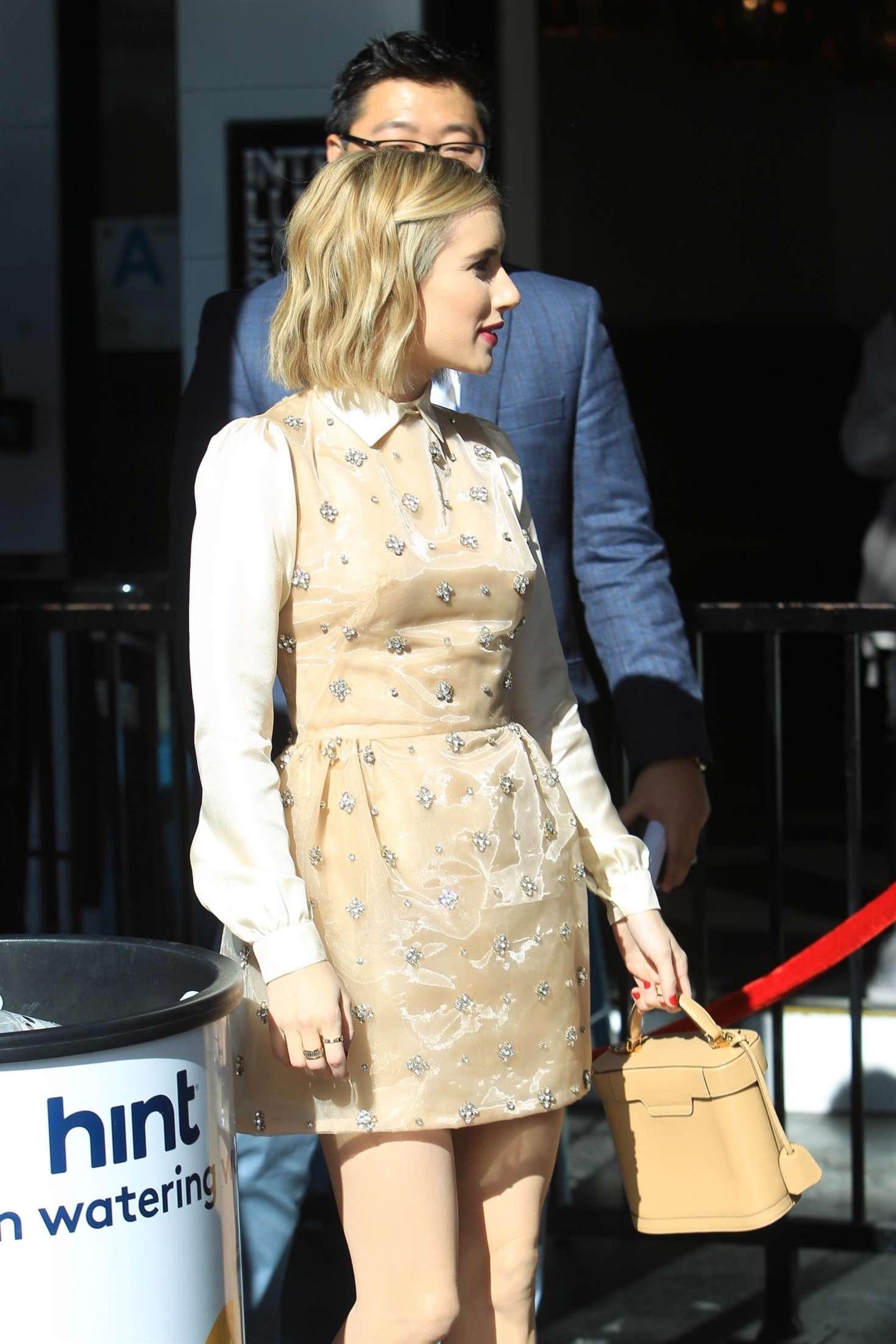 Emma Roberts 2018 : Emma Roberts: Arrives at Ryan Murphys Walk of Fame Ceremony -02