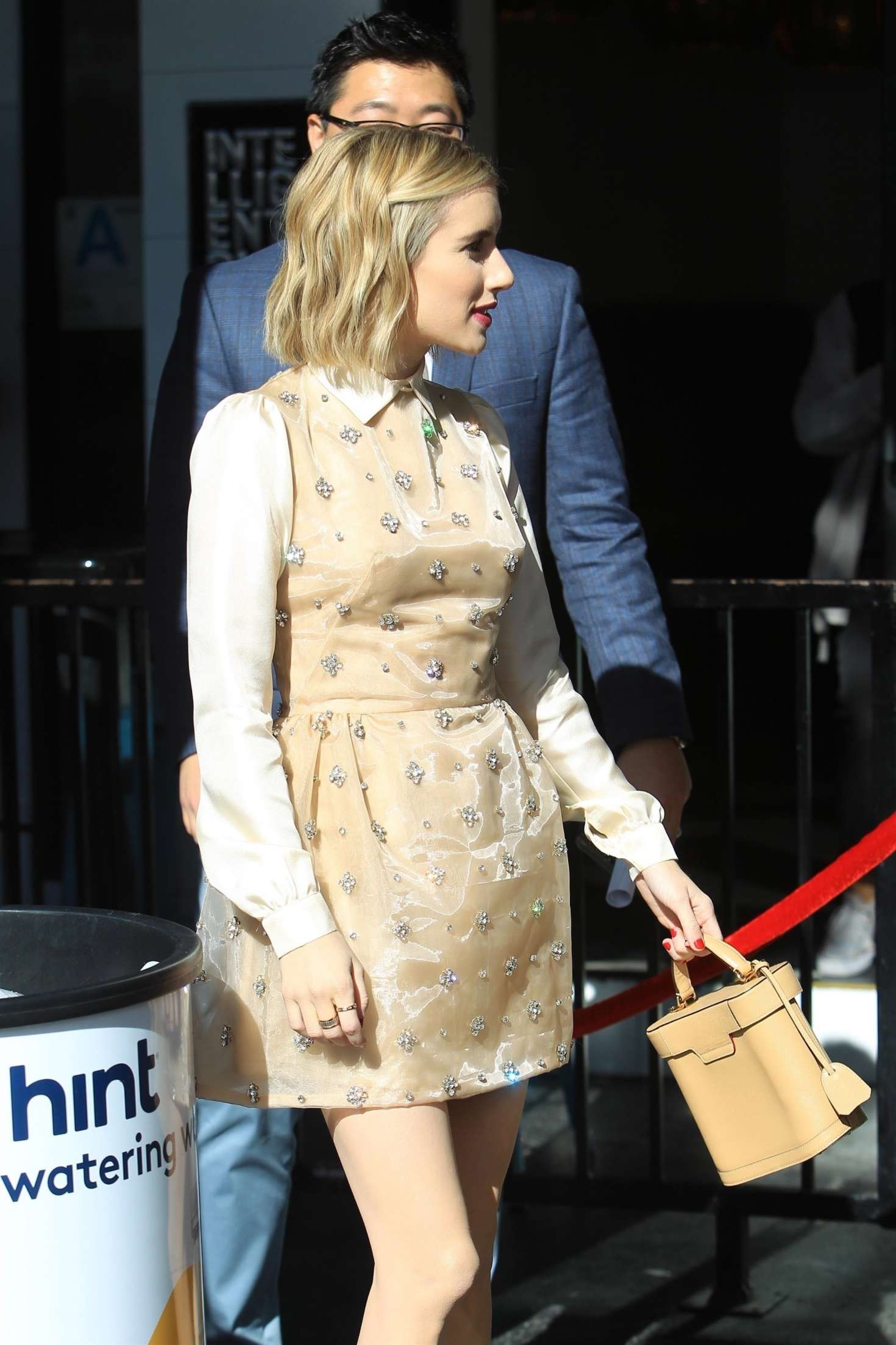 Emma Roberts 2018 : Emma Roberts: Arrives at Ryan Murphys Walk of Fame Ceremony -04