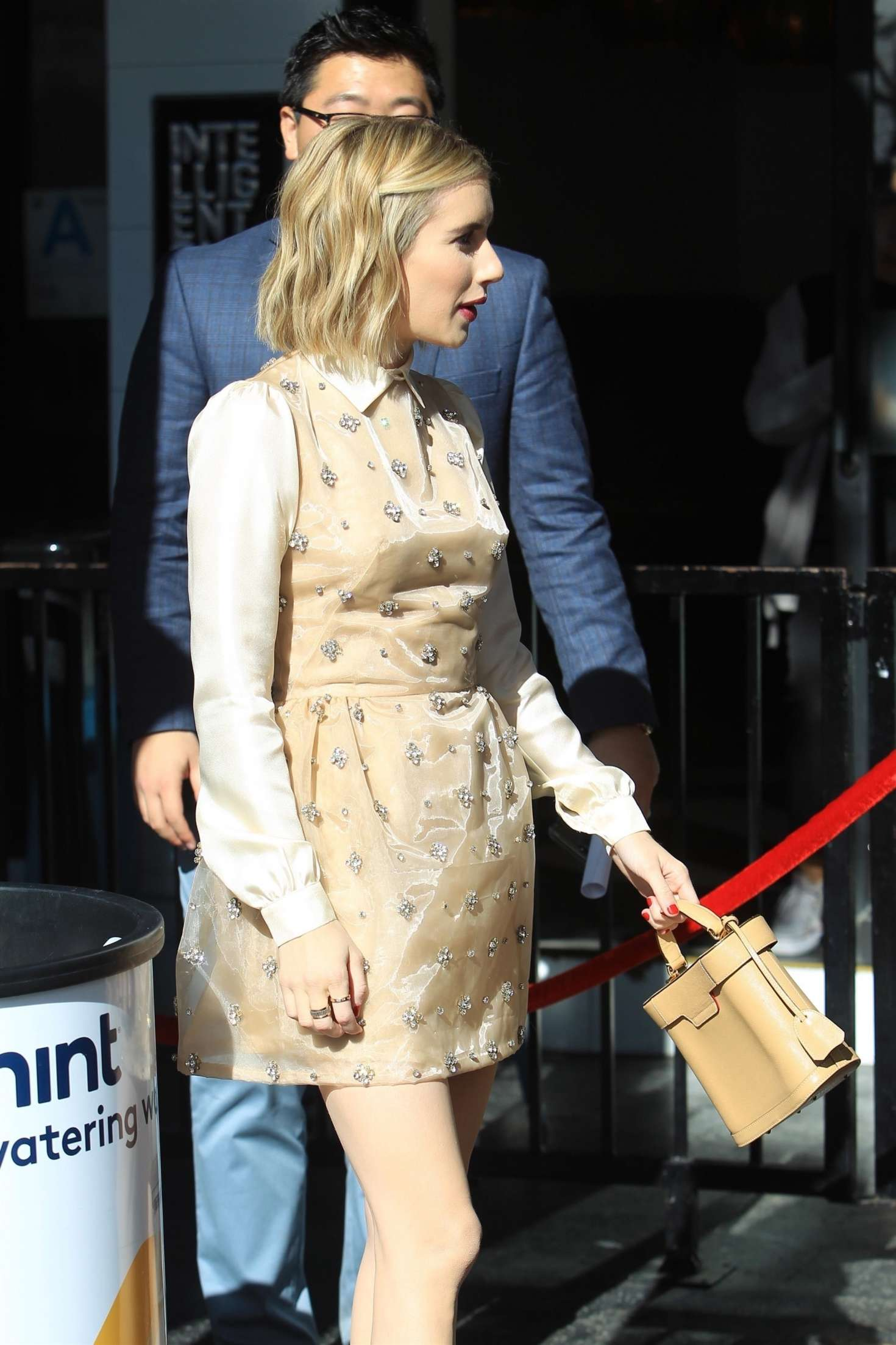 Emma Roberts 2018 : Emma Roberts: Arrives at Ryan Murphys Walk of Fame Ceremony -08