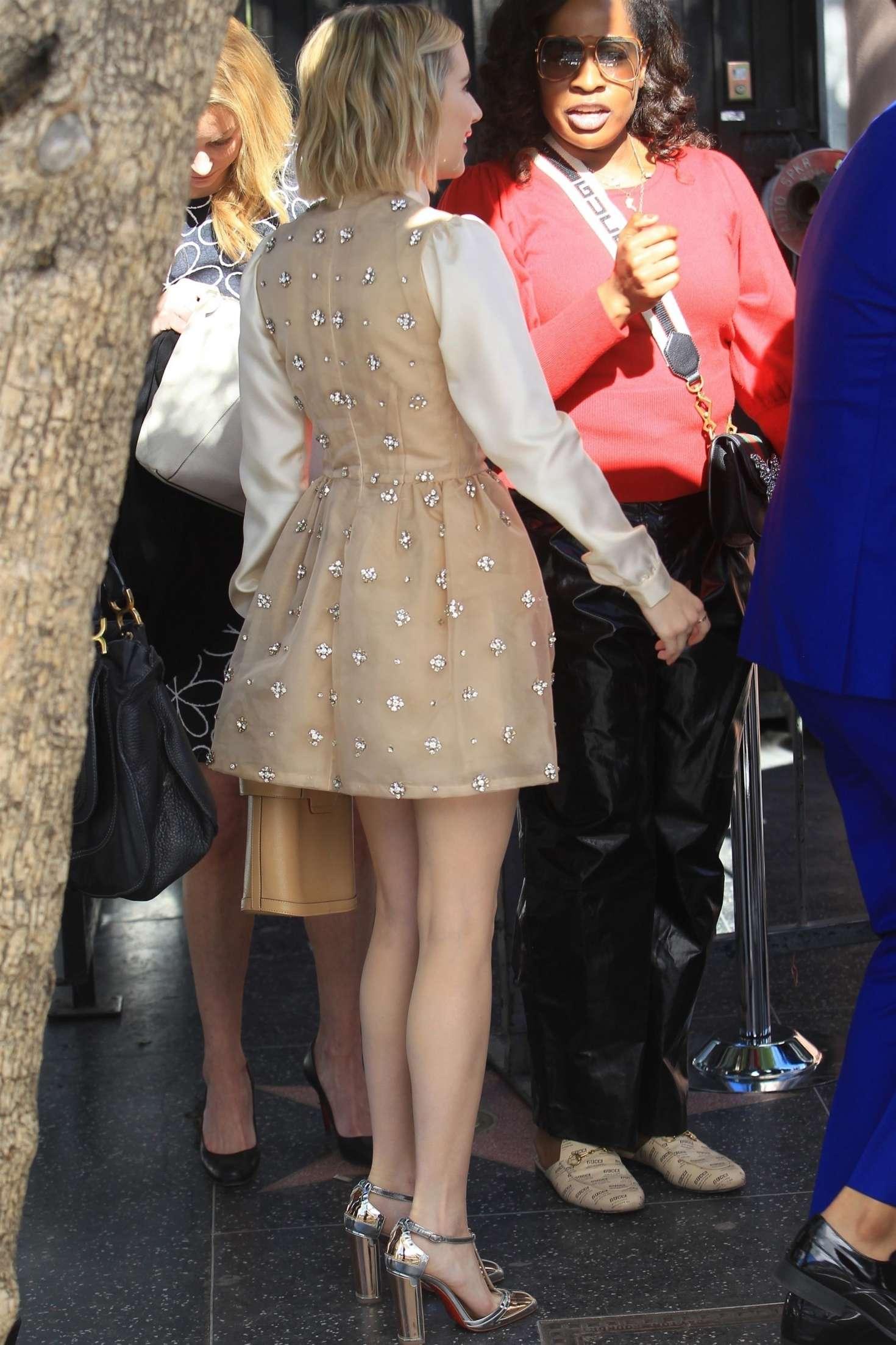Emma Roberts 2018 : Emma Roberts: Arrives at Ryan Murphys Walk of Fame Ceremony -09
