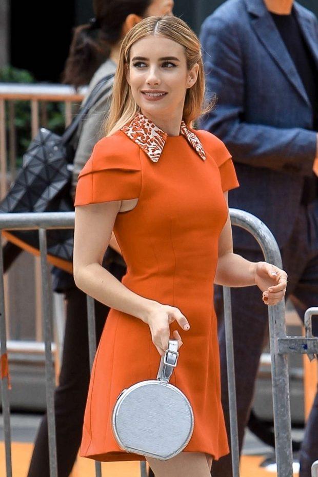 Emma Roberts: Arrives at The UglyDolls Premiere -03