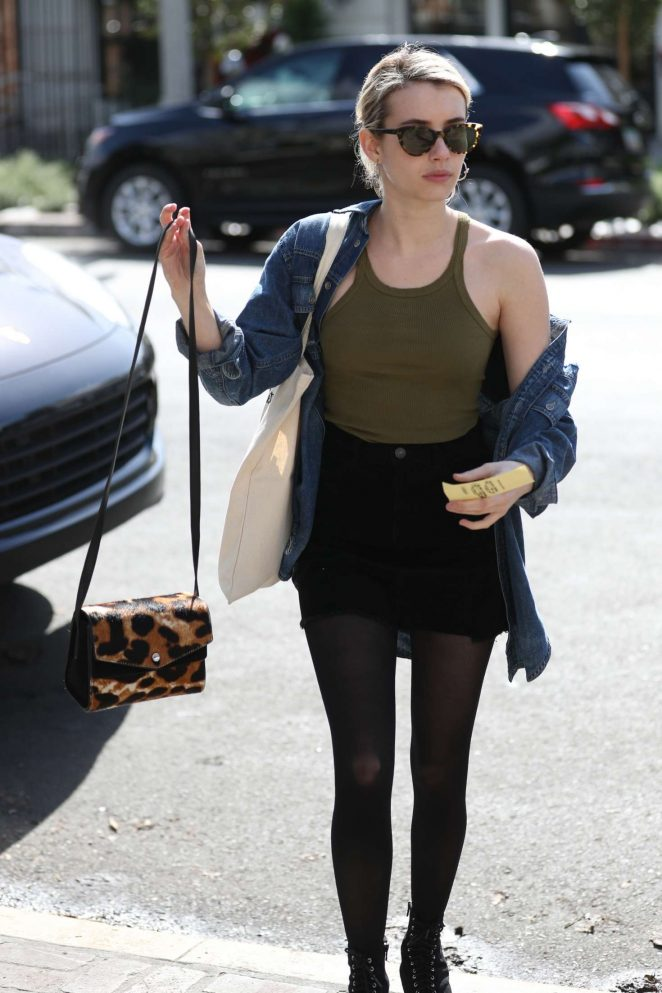 Emma roberts archives gotceleb for 901 salon beverly hills