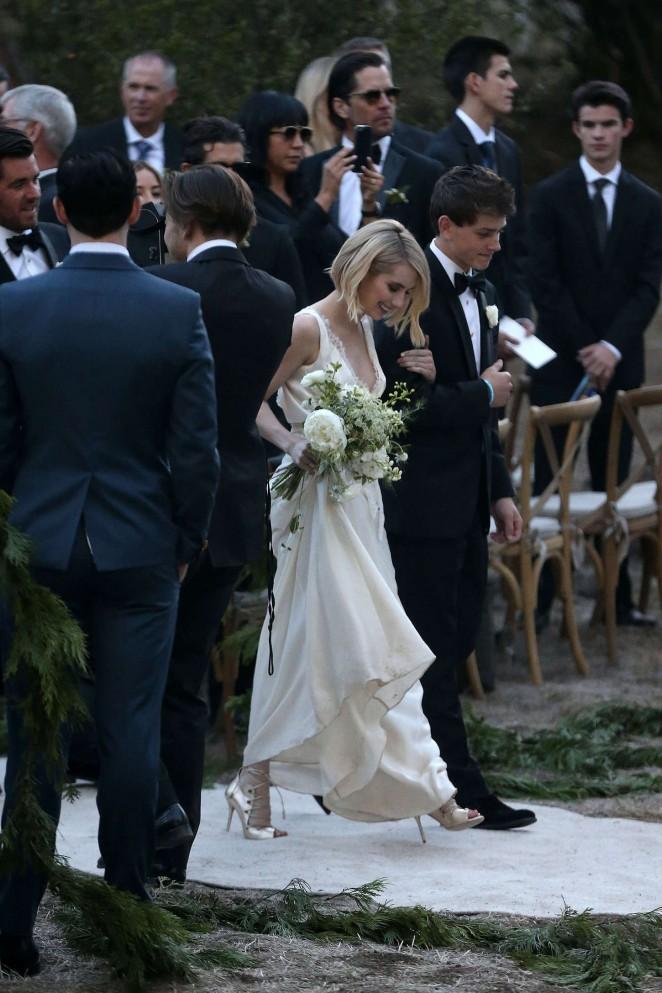 Back to post emma roberts at kara smith wedding in los angeles