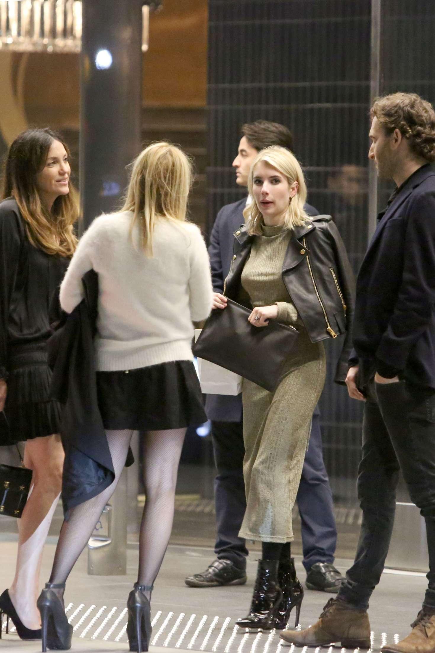 Emma Roberts 2017 : Emma Roberts: Attends Cade Hudsons Birthday Party -02