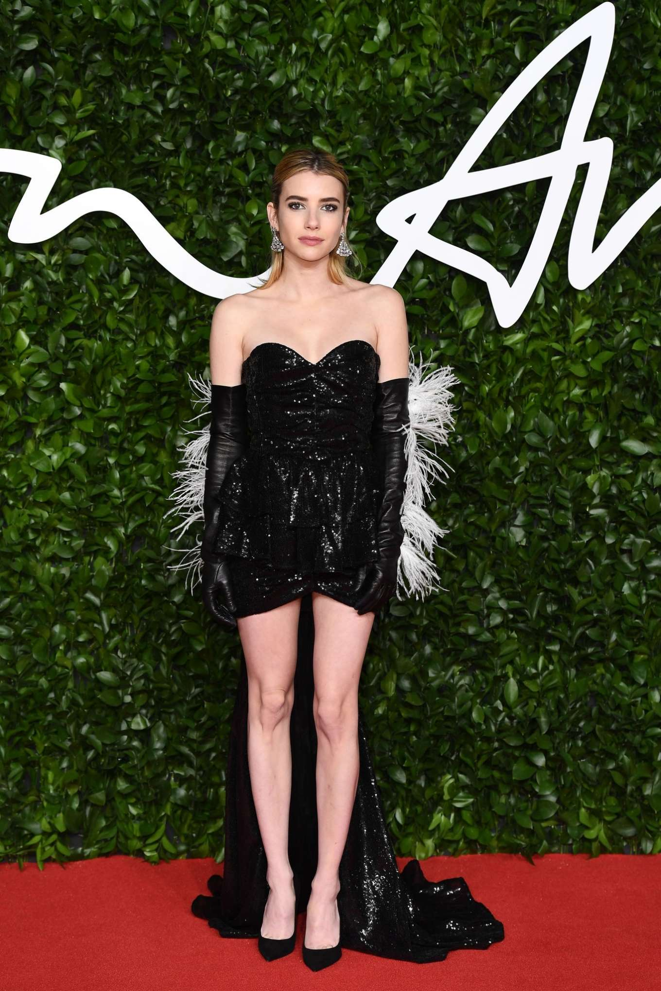 Emma Roberts 2019 : Emma Roberts – Fashion Awards 2019 in London-01