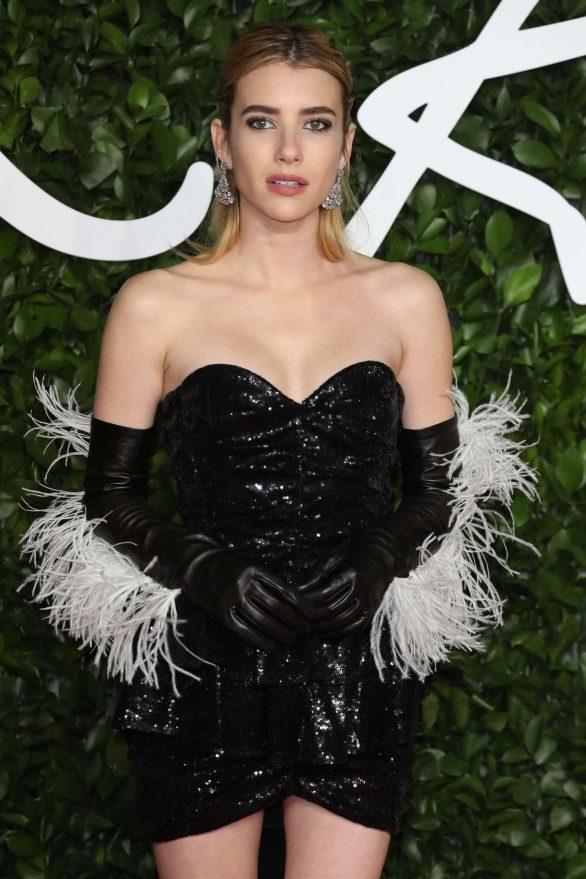 Emma Roberts - Fashion Awards 2019 in London