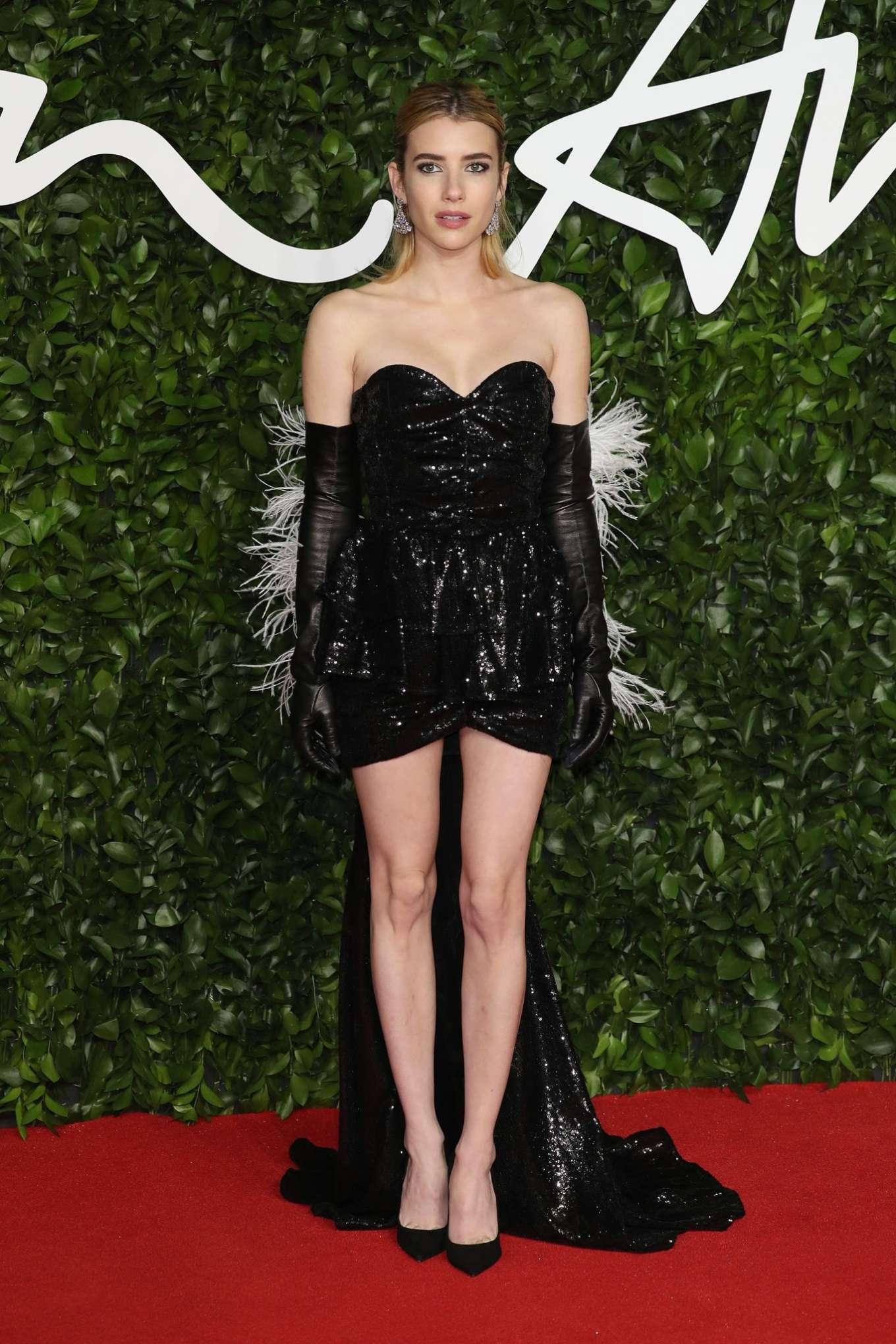 Emma Roberts 2019 : Emma Roberts – Fashion Awards 2019 in London-06