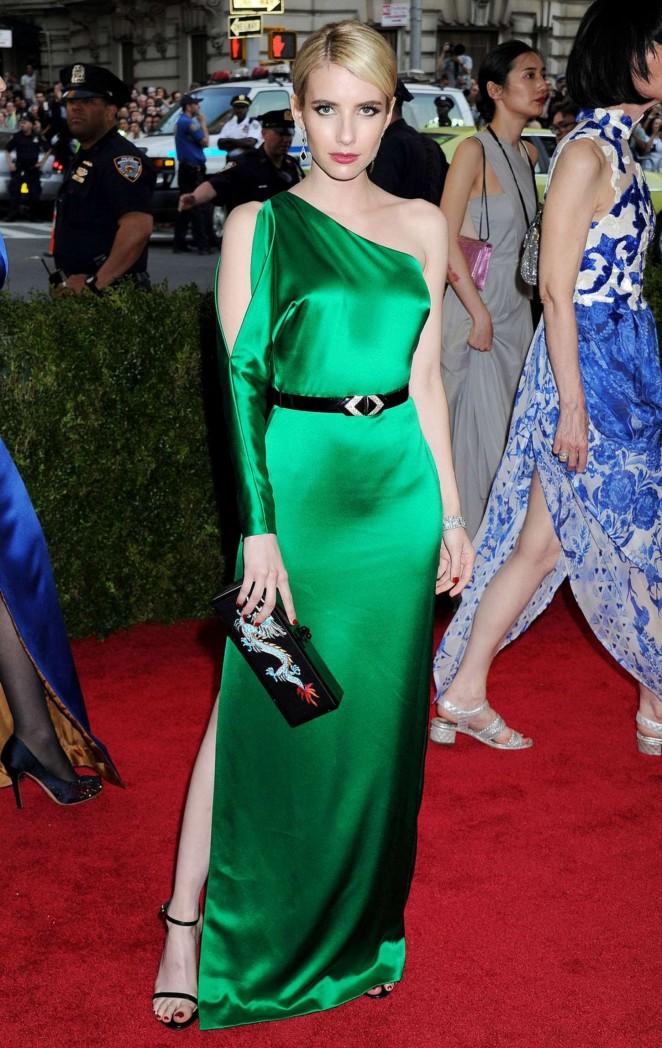 Emma Roberts - 2015 Costume Institute Gala in NYC