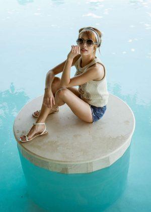 Emma Roberts - Coachella Photoshoot 2016