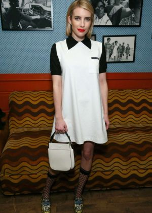 Emma Roberts - Cocktail in Honor of Theaster Gates in Miami