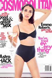 Emma Roberts - Cosmopolitan Magazine (June 2019)