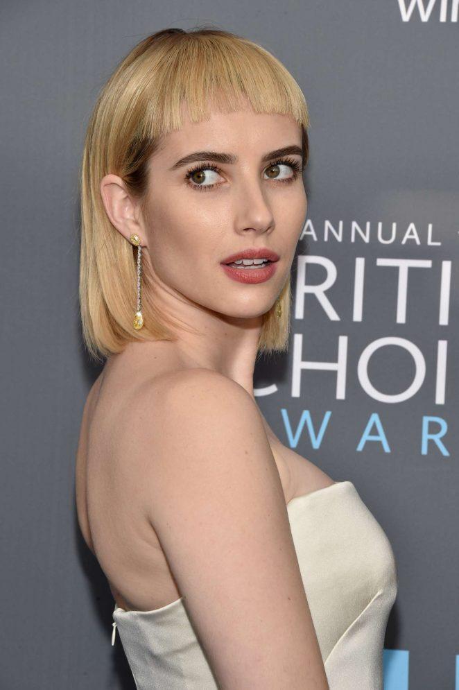 Emma Roberts – Critics' Choice Awards 2018 in Santa Monica