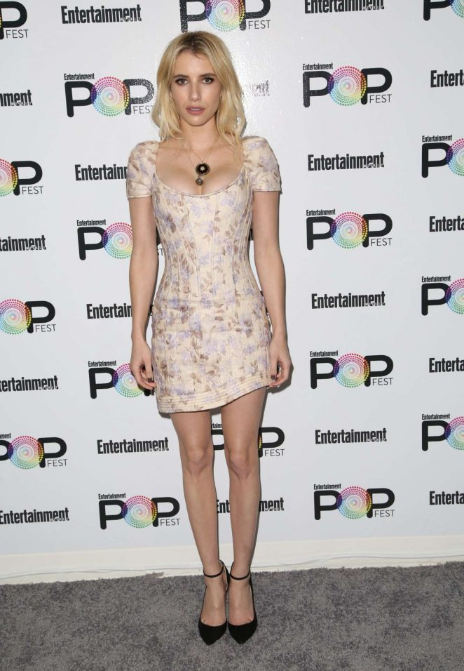 Emma Roberts: Entertainment Weekly PopFest -15