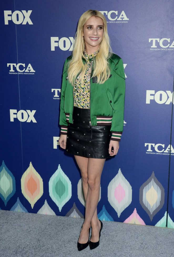 Emma Roberts - FOX 2016 Summer TCA All-Star Party in West Hollywood