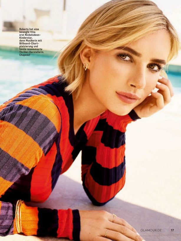 Emma Roberts - Glamour Germany Magazine (July/August 2020)