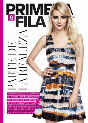 Emma Roberts - Glamour Latin America (October 2016)