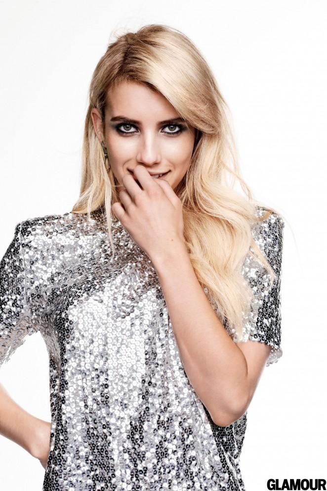 Emma Roberts – Glamour US 2015 -01