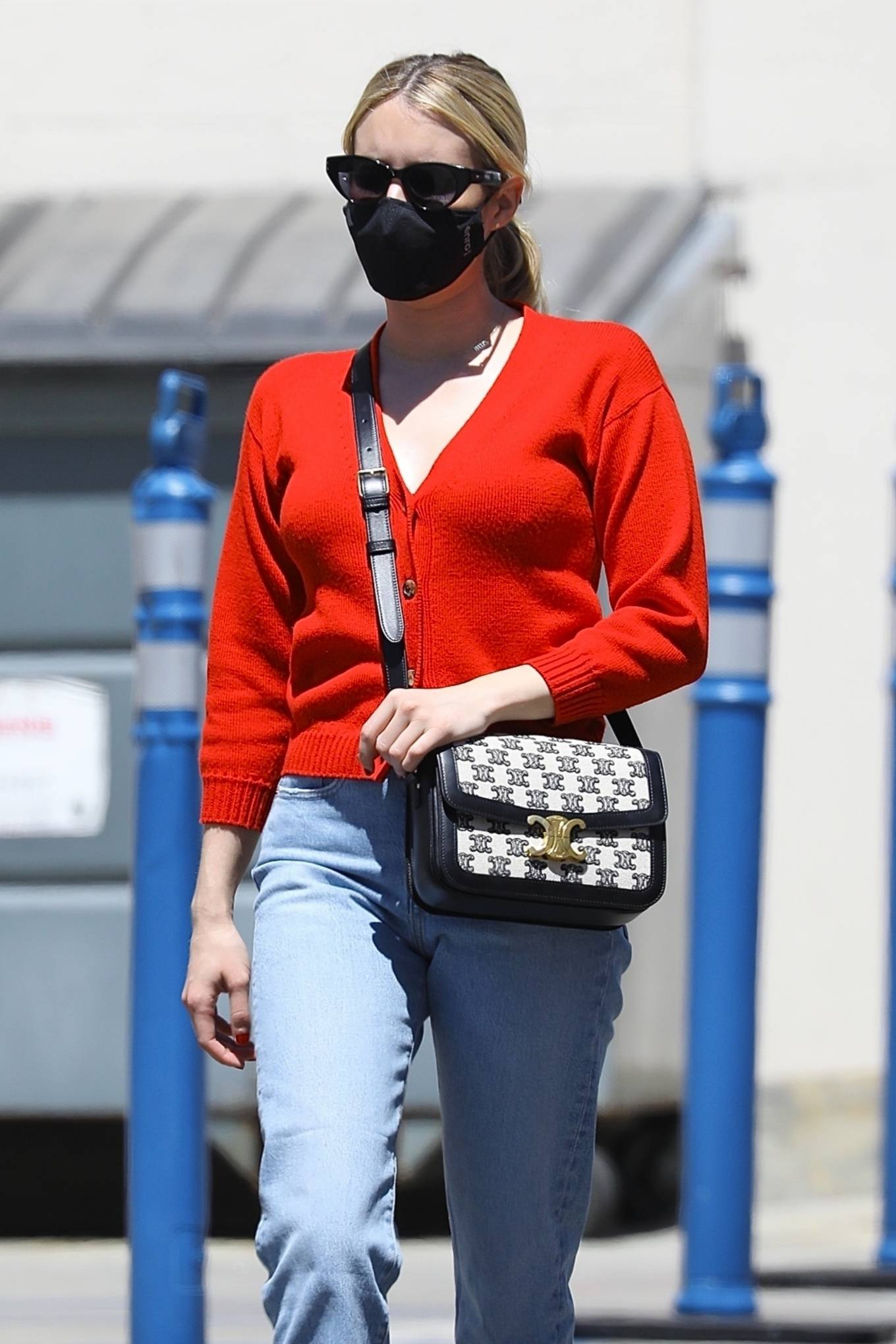Emma Roberts 2021 : Emma Roberts – heads to Rodeo Dr. in Beverly Hills with her mother Kelly Cunningham-02