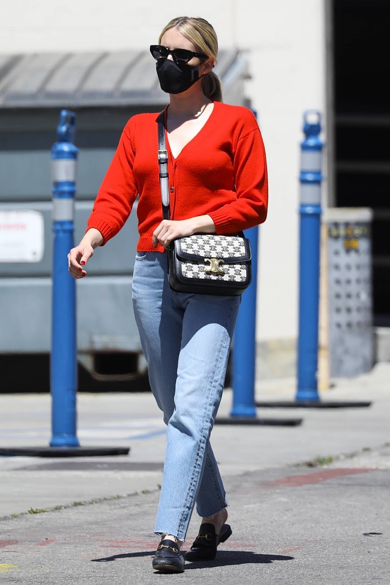 Emma Roberts 2021 : Emma Roberts – heads to Rodeo Dr. in Beverly Hills with her mother Kelly Cunningham-17