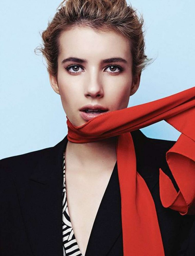 Emma Roberts - Heroine Magazine (February 2015)