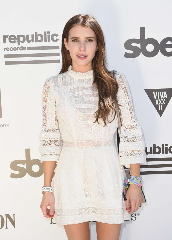 Emma Roberts - Hyde Away hosted by Republic Records and SBE in Thermal