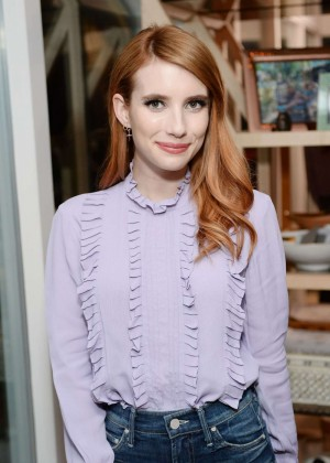 Emma Roberts - Imagine Vince Camuto Launch Event in Beverly Hills
